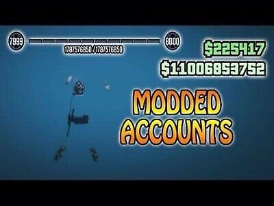 Gta V Pc Modded Account, Unlimited Money, Any Modded Cars