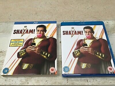 Shazam! (Blu-Ray, 2019) includes DC Motion Comic