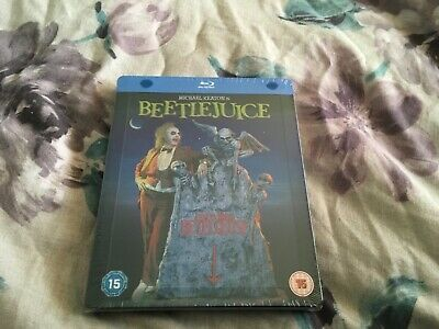 Beetlejuice Bluray Steelbook Uk World Exclusive Rare New Long Oop