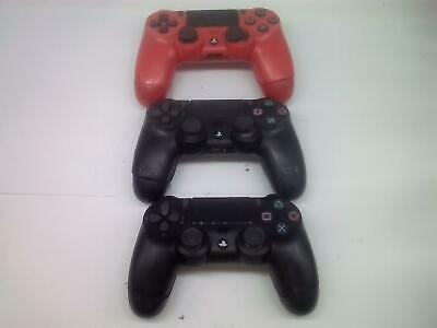 3 Pz Sony PLAYSTATION 4 PS4 Dualshock 4 Wireless Controller Difettoso,