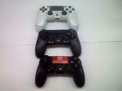 3 Pz Sony PLAYSTATION 4 PS4 Dualshock 4 Wireless Controller, Difettoso,