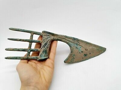 Ancient Near Eastern Ca.200 Bc Bronze Spiked Battle  @Xe -Rare R829