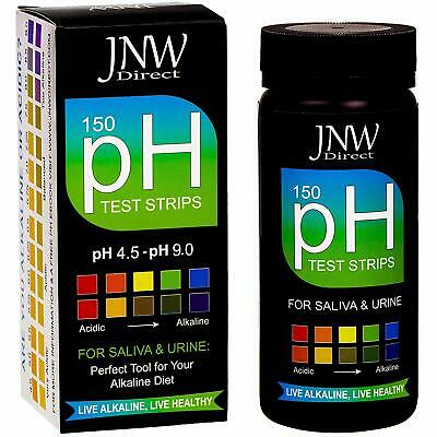 Ph Test Strips, 150 Saliva And Urine Ph Test Strips For Testing Body Acidity  A