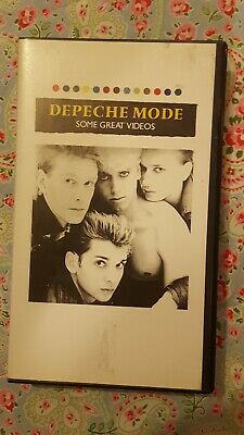 """Vintage DEPECHE MODE """"SOME GREAT VIDEOS""""  -  VHS VIDEO"""