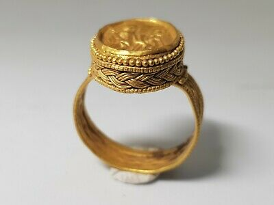 Roman Gold Marriage  Ring  3rd, 4th  century AD.