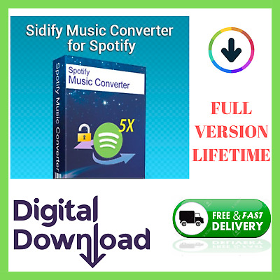 ✅ Sidify Music Converter For Windows - Convert any song for SPOTIFY ✅ LIFETIME📥