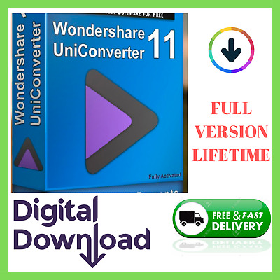 ✅ Wondershare UniConverter 11 FULL Version ✅ With ACTIVATOR LIFETIME 🔐 Download