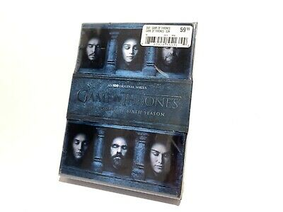 Game of Thrones: The Complete 6th Season 6 (DVD, 2016, 5-Disc Set).         .A27
