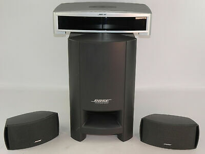 Bose PS3-2-1 II Powered Speaker System, SUB, CONTROL BOX, 2 SPEAKERS, POWER CORD