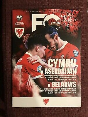 Wales v Azerbaijan (Euro Qualifier) and Belarus (Friendly) - September 2019