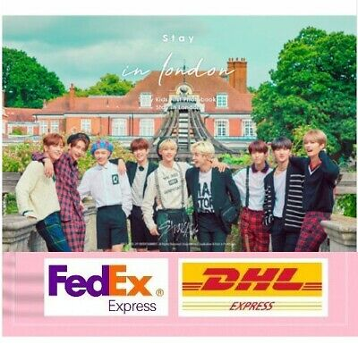 Stray Kids SKZ STAY IN LONDON 1st Photobook+DVD+Photocard+Official Goods Seal