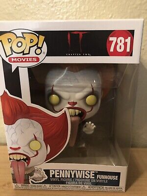 Funko POP Pennywise Funhouse IT Chapter 2 Clown Horror Figure #781