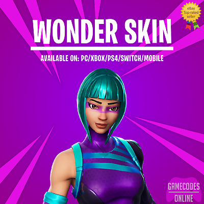 Fortnite Wonder Skin (PC/Xbox/PS4/Switch/Mobile) FAST DELIVERY