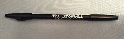 The BrowGal Eyebrow Pencil By Tonya Crooks 3 In 1 MEDIUM BROWN 04 ~ Full Size