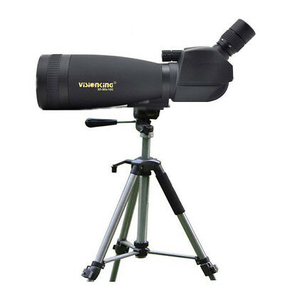 Visionking 30-90x100 Large Ocular Spotting scope High steel Heavy duty Tripod