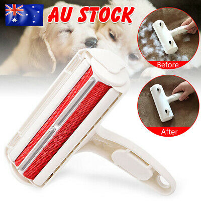 Pet Hair Remover Roller Self Cleaning Dog&Cat Hair Remover Fur Removal Roller AU