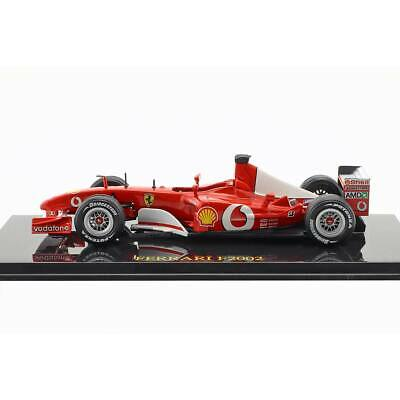 Michael Schumacher Ferrari world champion Formula 1 2002 MODELLINO 1/43