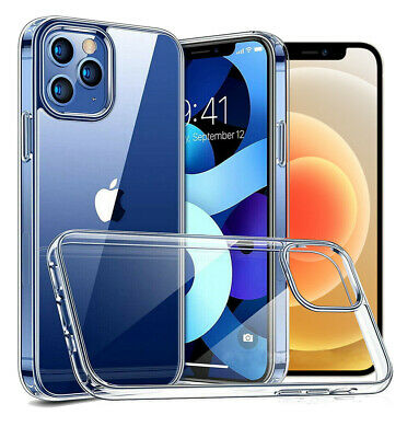 For iphone 11 Pro Max Ultra Thin Clear Silicone TPU Back Case Shockproof Cover