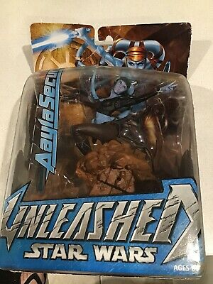 Star Wars UNLEASHED - Aayla Secura Figurine 2004 (Hasbro)