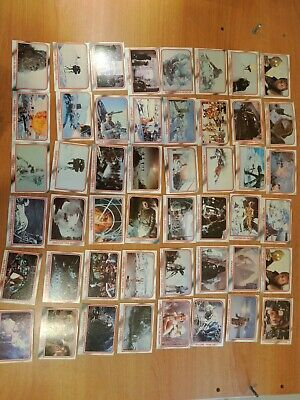 Vintage 1980 Star Wars The Empire Strikes Back Trading Cards. 96 cards in total
