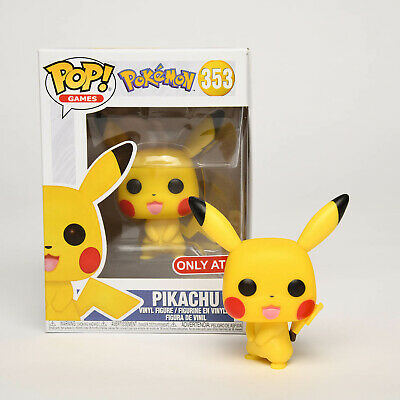 Funko Pop Games Pokemon Pikachu Vinyl Figure with Retail Box Toy Gifts for Kids