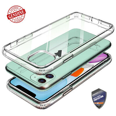 For iPhone 11 / 11 Pro / 11 Pro Max VVUP [C-Stone] Clear Shockproof Glass Cover