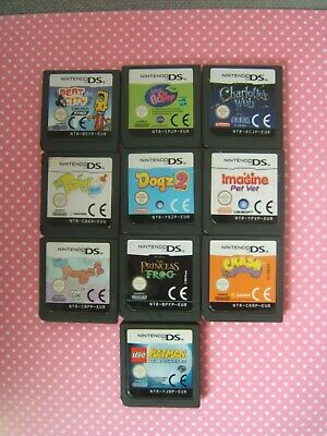 Nintendo DS games x 10 mixed good working condition