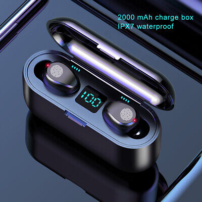 Wireless Bluetooth 5.0 Headphones Stereo Earbuds For iPhone X XR XS 8 7 6 Plus