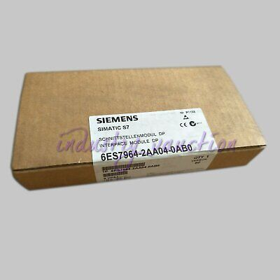 Siemens New 6ES7964-2AA04-0AB0 S7-400 6ES7 964 IF-964 DP interface module
