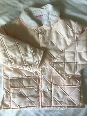 Le Guignol Girls Quilted Jacket Coat Age 3 Trotters Princess Charlotte