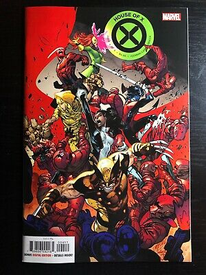 House of X #4 2019 MARVEL Comics Cover A NM