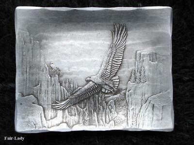>> Soaring Eagle <<  Wendell August~~Forged Aluminum~~Trinket Tray~~Collectible