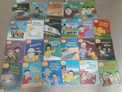 Read with Biff, Chip and Kipper Levels 4-6 Collection 24 books