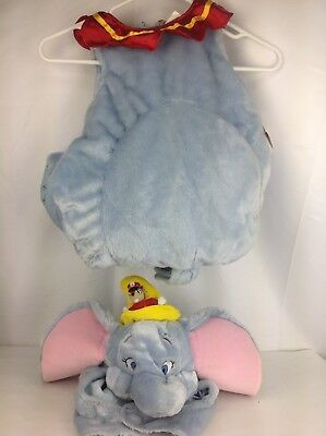 New Disney Store DUMBO 12-18 mo Elephant Baby Child Toddler Halloween Costume