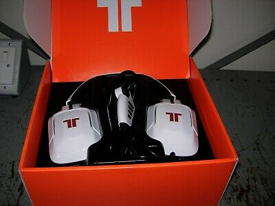Tritton Pro+ 5.1 Surround Gamers Headset ( A grade ) in White  ( PS/4 XBOX )