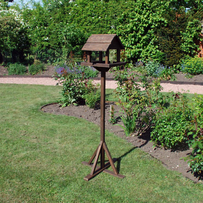 Traditional deluxe pre-treated bird table from natures market tripod base