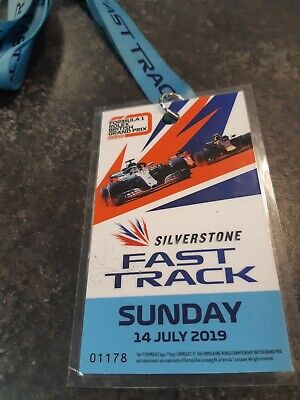 Rolex F1 Formula 1 British Grand Prix 2019 Blue lanyard GP
