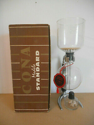 cafetiere cona pyrex 8 tasses coffee maker cona pyrex 8 cups UK old