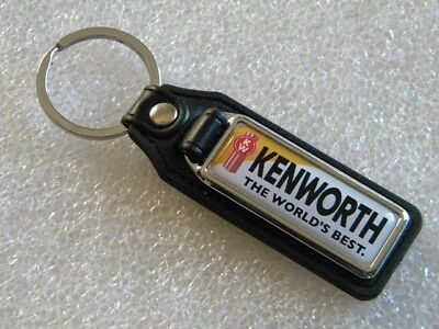 Kenworth The World´s Best Key Fob Ring Chain Heavy Duty Truck W900 T680 Patch #1