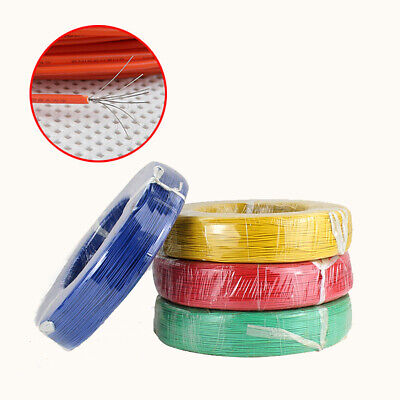 UL1061   Tinned Copper Flexible Stranded  Equipment Wire Cable  Various Colours