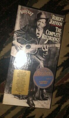 The Complete Recordings of Robert Johnson 2 (SEALED) CDs Box With Booklet