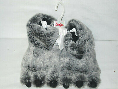 Soft Plush Furry Monster Sleepers Toddler Kids Boys Girls by Cat & Jack M 7/8