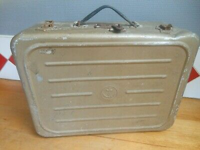 Ancienne Caisse Valise Couleur Sable ? Marin Troupe Marine Fusillier Marin ...