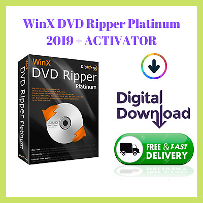 🔥 WinX DVD Ripper Platinum 2019 🔥 With ACTIVATOR LIFETIME 🔐 + Video Guide 📥
