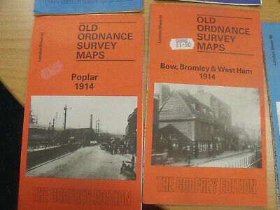 Old Ordnance Survey Maps, London area, 1893 - 1914