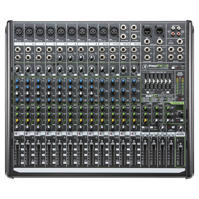Mackie ProFX16v2 16-Channel 4-Bus Compact Mixer with Effects and USB