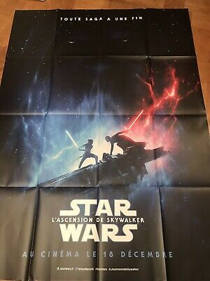 Lot Deux Affiches 120x160 « Star Wars 9 »/L'ascension De Skywalker