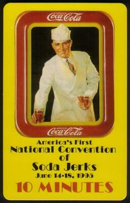 10m World of Coke: Soda Jerk Convention 'SAMPLE' (Classic) Phone Card