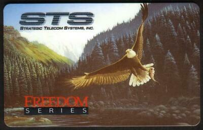 Freedom Series: Eagle Nabs A Fish (Exp 08/96) Phone Card