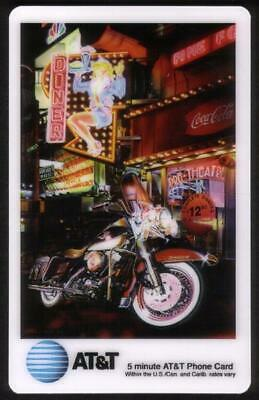 Gucwa Artwork: Different Cards w/Motorcycle & Coke Logos (Set of 4) Phone Card
